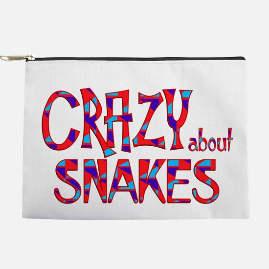 Crazy About Snakes Makeup Pouch