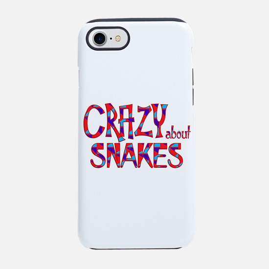 Crazy About Snakes iPhone 7 Tough Case
