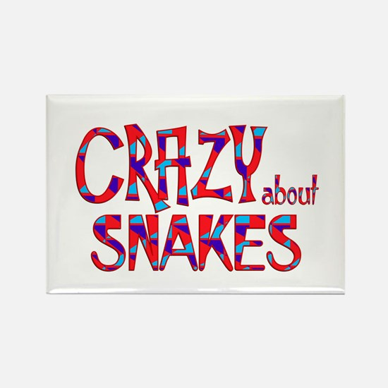 Crazy About Snakes Magnets