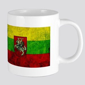 Lithuania Flag Mugs
