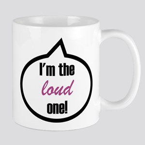 I'm the loud one Stainless Steel Travel Mugs