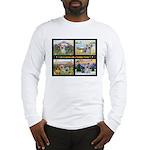 Original Yorkshire Terrier Art Long Sleeve T-Shirt