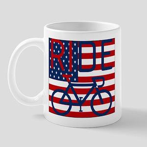 US FLAG RIDE Mug