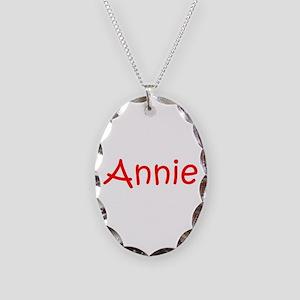 Annie-kri red Necklace