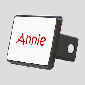 Annie-kri red Hitch Cover
