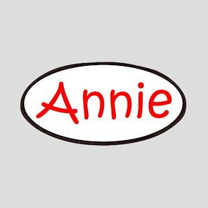 Annie-kri red Patches