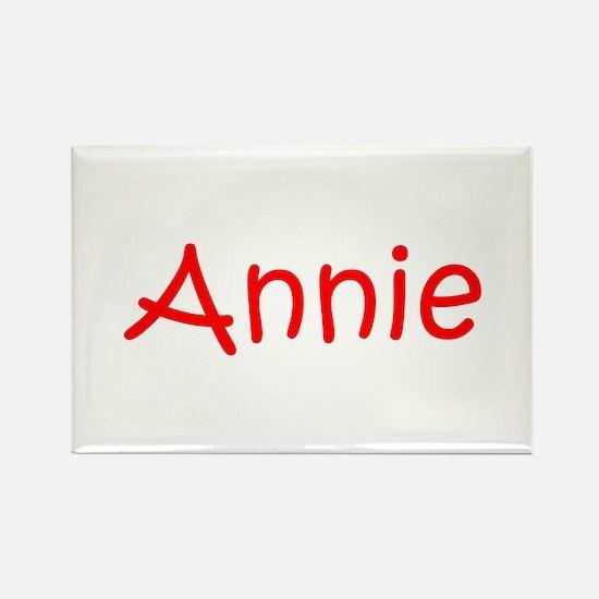 Annie-kri red Magnets