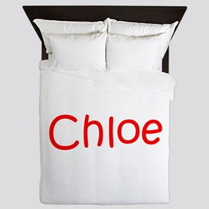 Chloe-kri red Queen Duvet