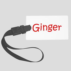 Ginger-kri red Luggage Tag