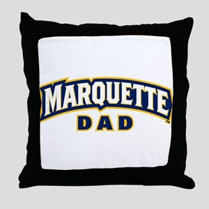 Marquette Golden Eagles Dad Throw Pillow