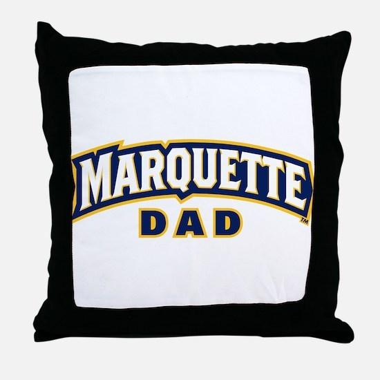 Marquette Golden Eagles Dad Throw Pillow