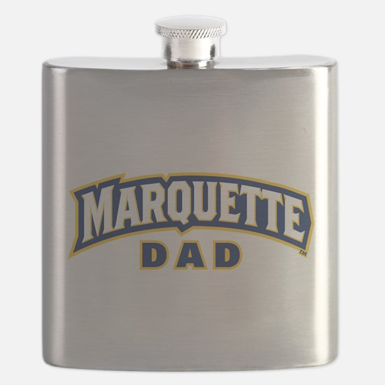Marquette Golden Eagles Dad Flask