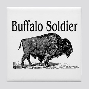 BUFFALO SOLDIER Tile Coaster