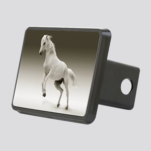 White Horse Hitch Cover