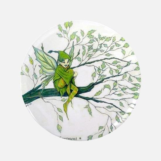 """Tree Fairy 3.5"""" Button"""