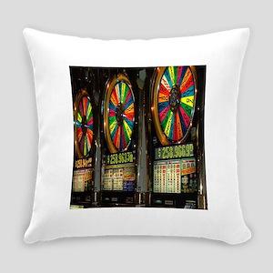 Las Vegas Slot Machines Everyday Pillow