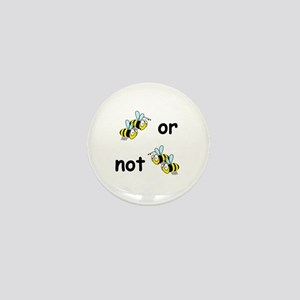 Two Bees Or Not Two Bees Mini Button