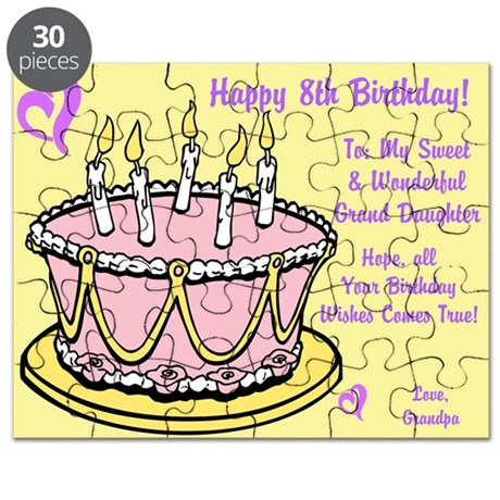 Happy 8th birthday card from grandpa puzzle by itsallinthename happy 8th birthday card from grandpa puzzle bookmarktalkfo Image collections