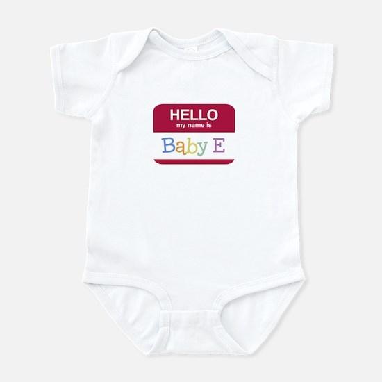Hello My Name Is - Infant Bodysuit