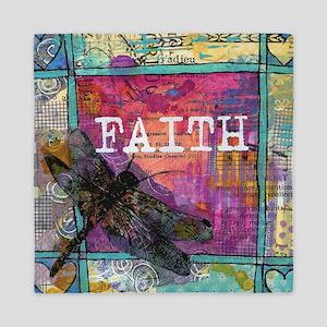 Dragonfly Faith Queen Duvet
