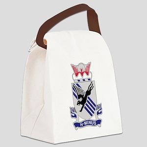 505th Airborne Infantry Regiment. Canvas Lunch Bag