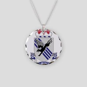 505th Airborne Infantry Regi Necklace Circle Charm