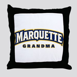 Marquette Golden Eagles Grandma Throw Pillow