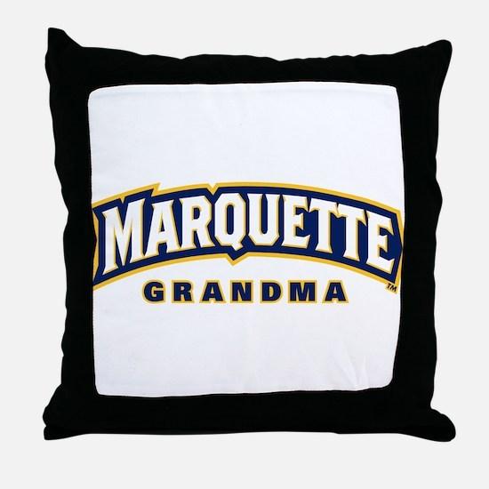 Marquette Golden Eagles Grandma Throw Pillow