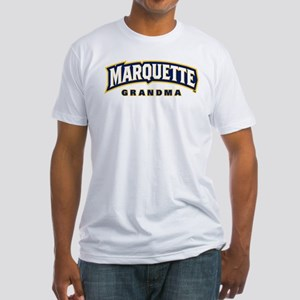 Marquette Golden Eagles Grandma Fitted T-Shirt