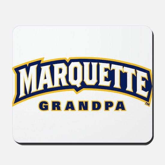 Marquette Golden Eagles Grandpa Mousepad