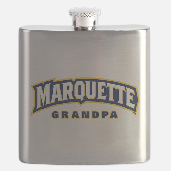 Marquette Golden Eagles Grandpa Flask