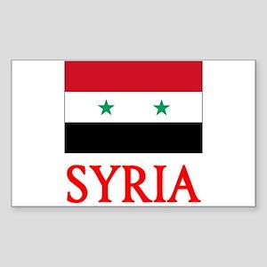 Syria Flag Design Sticker