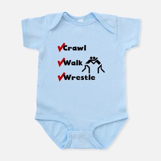 Crawl Walk Wrestle Body Suit