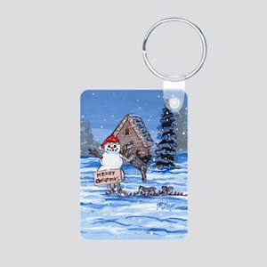 Miniature Schnauzer DFC Keychains