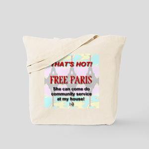 That's Hot! Free Paris Tote Bag