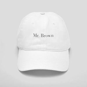 Mr Brown-bod gray Baseball Cap