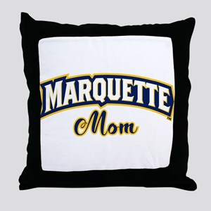 Marquette Golden Eagles Mom Throw Pillow