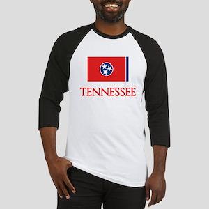 Tennessee Flag Design Baseball Jersey