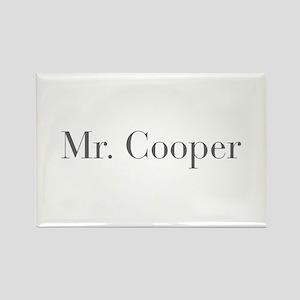 Mr Cooper-bod gray Magnets