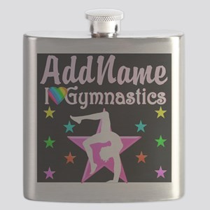 I LOVE GYMNASTICS Flask