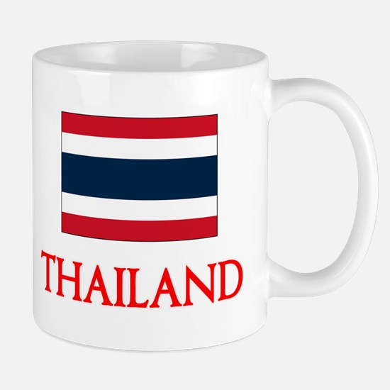 Thailand Flag Design Mugs