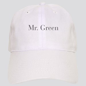 Mr Green-bod gray Baseball Cap