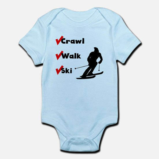 Crawl Walk Ski Body Suit