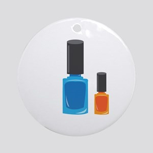 Nail Polishes Ornament (Round)