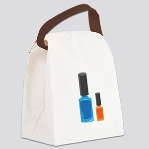 Nail Polishes Canvas Lunch Bag