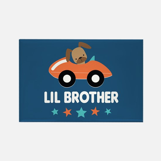 Lil Brother Rectangle Magnet