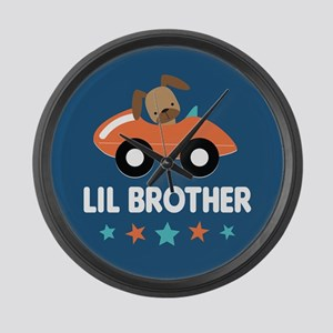 Lil Brother Large Wall Clock