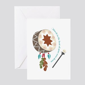 Your Own Drum Greeting Cards