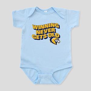 Marquette Golden Eagles Winnin Baby Light Bodysuit