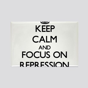 Keep Calm and focus on Repression Magnets